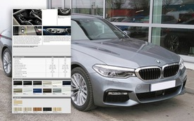 BMW 5-Series 2019 sắp ra mắt tại Việt Nam lộ thông số kỹ thuật và giá dự kiến từ gần 2,4 tỷ đồng