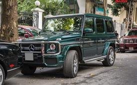 Chi tiết này giúp chiếc Mercedes-AMG G63 7 tỷ của đại gia Hà Nội dù cũ nhưng vẫn cuốn hút và độc nhất Việt Nam