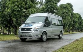 Ford Transit 2019 giảm giá, tăng thời gian bảo hành, cạnh tranh Hyundai Solati