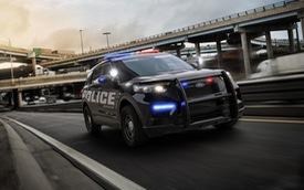 Ford Explorer thế hệ mới được hé lộ qua xe cảnh sát Mỹ