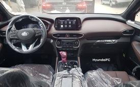 Hyundai Santa Fe 2019 'full option' về Việt Nam: Có nhớ ghế, điều hòa hàng ghế 3, màn hình đa thông tin 7 inch