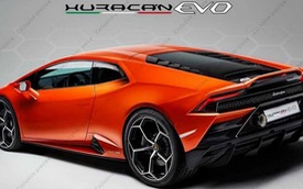 Lamborghini Huracan 2020 lần đầu lộ ảnh toàn diện không che chắn