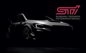 Subaru nhá hàng WRX STI S209 một tuần trước ngày ra mắt