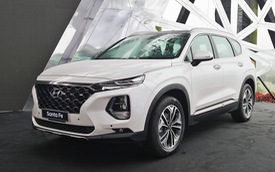 Chi tiết Hyundai Santa Fe 2019 bản đắt đỏ nhất giá 1,2 tỷ đồng vừa ra mắt