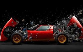 """Từ vô danh thành nổi tiếng toàn cầu nhờ bức ảnh Lamborghini Miura """"vỡ vụn"""" nhưng thời gian phá siêu xe khiến ai cũng phải khâm phục"""