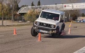 Suzuki Jimny 2019 dính điểm trừ nghiêm trọng khi đánh lái