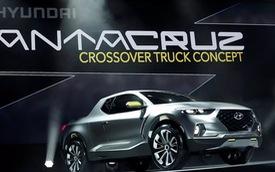 Lo xong SUV, Hyundai liều mình thay đổi thiết kế bán tải Santa Cruz