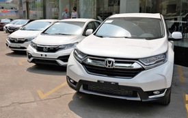 Honda CR-V bán shock hơn 2.800 xe, 'cân team' ngay tháng đầu năm 2019
