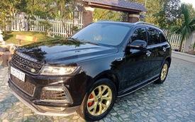 """Zotye T600s 2017 """"mạ vàng"""", dán logo """"DISCOVERY"""" khắp thân xe rao bán hơn 500 triệu đồng"""