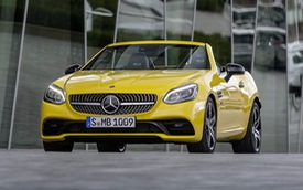 Mercedes-Benz chia tay SLC bằng Final Edition: Cái kết của một kỷ nguyên