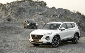 Bán gần hết lô đầu ngay tháng mở bán, Hyundai Santa Fe có gì hot?