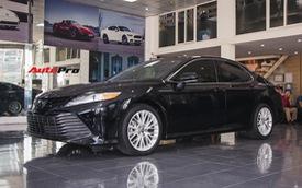 Khám phá Toyota Camry thế hệ mới đầu tiên VN: nhập Mỹ chất chơi, giá 2,5 tỷ đồng ngang Lexus ES250