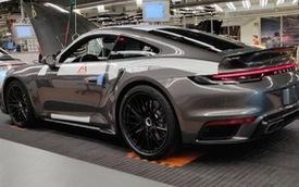 Porsche 911 Turbo đời mới ra mắt cuối năm cho fan đam mê tốc độ là đây