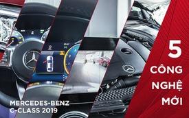 5 nâng cấp 'xắt ra miếng' trên Mercedes-Benz C-Class 2019 vừa ra mắt