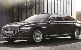 Genesis G90 Limousine: Sang xịn như Mercedes-Maybach, nhưng giá lại rẻ hơn đáng kể