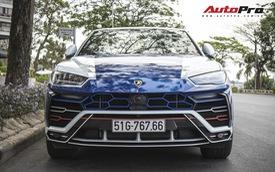"""Bỏ áo chrome, Lamborghini Urus của Minh """"nhựa"""" biến hoá ton-sur-ton với dàn xe anh em hàng chục tỷ"""