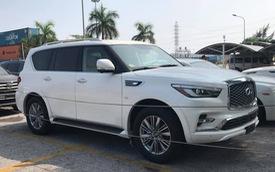'Khủng long' Infiniti QX80 đời mới chốt giá 7 tỷ đồng - đối thủ 'ngang cơ' Lexus LX570 tại Việt Nam