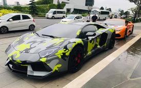 Đầu cầu Đà Nẵng cũng thể hiện độ chơi với bộ đôi siêu xe Lamborghini độ khủng