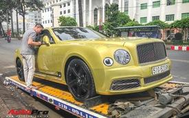 Ông chủ Đại Nam chi hơn 50 tỷ đồng mua Bentley Mulsanne EWB màu siêu độc tặng vợ dịp Tết