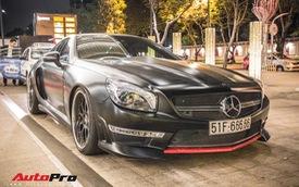 Mercedes-Benz SL350 biển số ngũ quý 6 du xuân đầu năm
