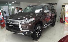 Mitsubishi Pajero Sport giảm giá, cạnh tranh với vua SUV 7 chỗ, đe dọa tân binh Nissan Terra