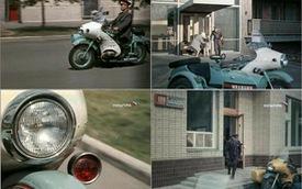 Đây chính là chiếc xít-đờ-ca mà cảnh sát Liên Xô dùng cách đây 50 năm với tốc độ trên 120 km/h