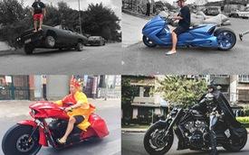 Những lần chơi lớn khiến đám đông Việt Nam trầm trồ của Đức Tào Phớ - Biker vừa tậu Tron Light Cycle tiền tỷ