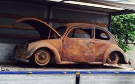Volkswagen Beetle lâu đời nhất thế giới bị thiêu rụi hoàn toàn nhưng được phục chế đẹp như mới
