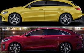 Không chung mâm nhưng xe Kia so với Mercedes sẽ như thế này đây
