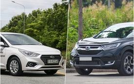 Hyundai Accent và Honda CR-V: Cặp đôi 'đổi vận' nhờ ra mắt phiên bản mới và giảm giá tại Việt Nam