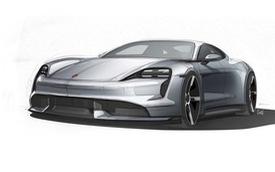 Porsche Taycan lộ diện dáng vẻ sexy qua ảnh phác thảo mới