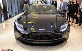 Aston Martin khai trương showroom đầu tiên tại Việt Nam, giá bán xe từ 15 tỷ đồng