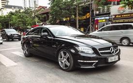 Đại gia Hà thành chơi hàng độc Mercedes-AMG CLS 63 nhưng biển số mới là điều đáng chú ý
