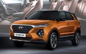 Mẫu crossover phổ thông Hyundai Creta chuẩn bị được nâng cấp, nhiều khả năng có 7 chỗ ngồi