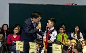 Gần 100 em nhỏ Hà Nội thi tài tìm hiểu kiến thức và kỹ năng tham gia giao thông an toàn