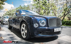 Đại gia Đà Nẵng đeo biển Lộc Phát cho hàng hiếm Bentley Mulsanne Speed