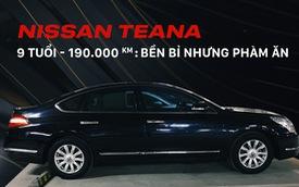 Người dùng tiết lộ sức bền của Nissan Teana sau 9 năm và 190.000 km, tiếp tục lên dự định xuyên Việt