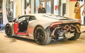 Sau Ferrari 458 Liberty Walk, đến lượt Lamborghini Huracan LP580-2 độc nhất Việt Nam độ phong cách 'giấu đầu hở đuôi'