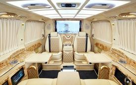 Mercedes-Benz V-Class Klassen: S-Class trong dáng hình minivan cho ông chủ