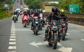 Những hình ảnh đáng nhớ của hơn 145 biker trên cả nước khuấy động ngày hội mô tô Honda