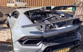 Chủ xe Lamborghini Huracan Performante hí hửng biểu diễn và cái kết đắng