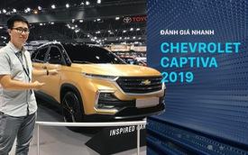 Đánh giá nhanh Chevrolet Captiva 2019: Đối thủ Hyundai Santa Fe chờ ngày về Việt Nam
