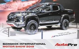 Cận cảnh Mitsubishi Triton Absolute Concept đối đầu Ford Ranger Raptor