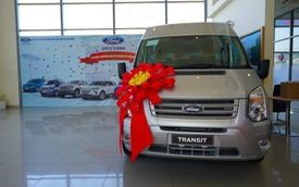 Đại gia ngành vận tải Việt mua hàng chục chiếc Ford Transit