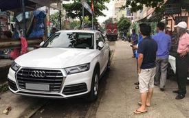 Audi Q5 chơi lớn, đỗ chắn tàu tại Đà Nẵng, người dân 'trầm trồ' trước ý thức của chủ xe