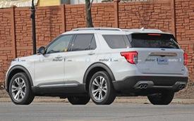 Explorer hybrid sạc điện lộ diện lần đầu đánh dấu bước tiến lớn của Ford