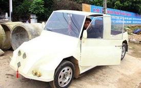 """Nam thanh niên chế xe """"siêu bán tải"""" từ chiếc xe máy Suzuki Viva với giá rẻ bất ngờ"""