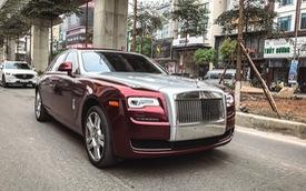 Đại gia Hà thành 'lột xác' Rolls-Royce Ghost bình thường thành chiếc độc nhất Việt Nam