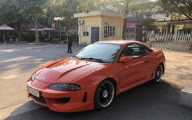 """Hồi sinh Mitsubishi Eclipse 24 năm tuổi, thợ máy bán xe giá hơn 200 triệu để """"lên đời"""" BMW X5"""