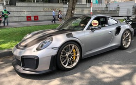Porsche 911 GT2 RS đầu tiên cập bến Việt Nam ra biển số khiến nhiều người trầm trồ
